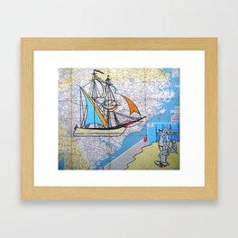East Coast - True North Framed Art Print
