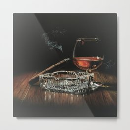 After Hours IV Metal Print