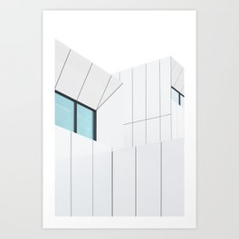 Jameel Arts Centre on Dubai Art Print
