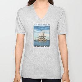 Sailing Grace Unisex V-Neck