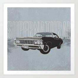 Supernatural: Impala (#2) Art Print
