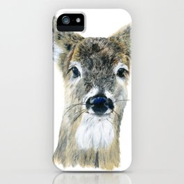 Doe Eyes by Teresa Thompson iPhone Case