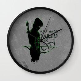 Vigilante Wall Clock