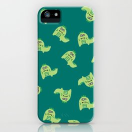 Dino explosion iPhone Case