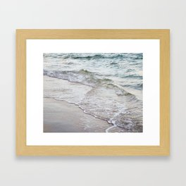 Serene Waves Framed Art Print