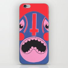 The Mad Lucha iPhone & iPod Skin