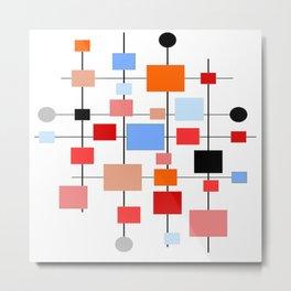 Mid-Century Modern Art 1.3.3 Metal Print