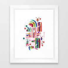 Twolips Framed Art Print