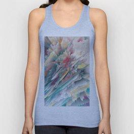 Rainbow Shards - Abstract Art by Fluid Nature Unisex Tank Top