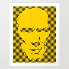 Harry Dots Art Print