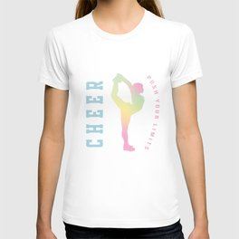 Push your limits pastel T-shirt