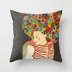 linda Throw Pillow