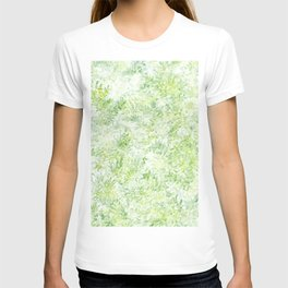 Green and Yellow Foliage T-shirt