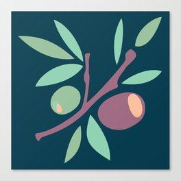 Tapas - Olives Canvas Print