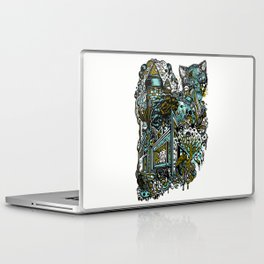 The Castle Of Doom and Sugar Laptop & iPad Skin