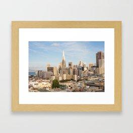 San Francisco Downtown Vista Framed Art Print