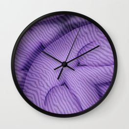 Coral Arc Wall Clock