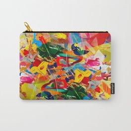 Kaleidoscope Plexi-glass Carry-All Pouch