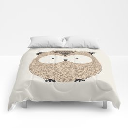 Owl Cute Woodland Animals Comforters