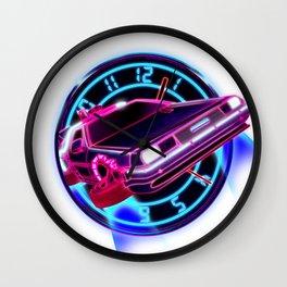 88mph Wall Clock