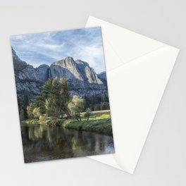 Yosemite Falls from Cook's Meadow Stationery Cards