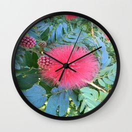 Colours of St Kitts Wall Clock