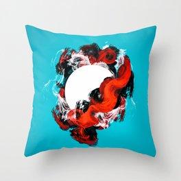 In Circle - I Throw Pillow