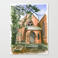 ben giles Canvas Prints featuring St. Giles by Anthony Billings