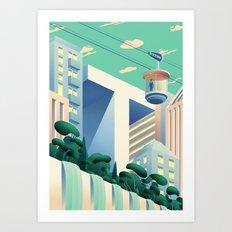 u-T-opia Art Print