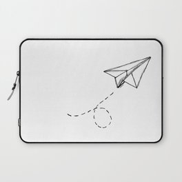 Paper Airplane 9 Laptop Sleeve