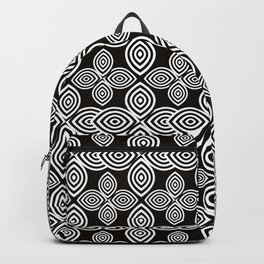 Pretty Confusion, Black and White Backpack