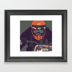 race shit Framed Art Print