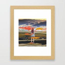 into the dream 65 Framed Art Print