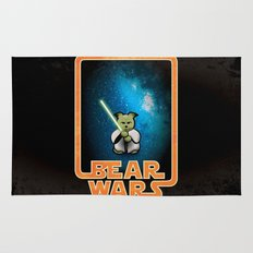Bear Wars - the Wise One Rug
