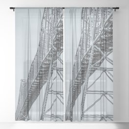 Soaring Design Sheer Curtain