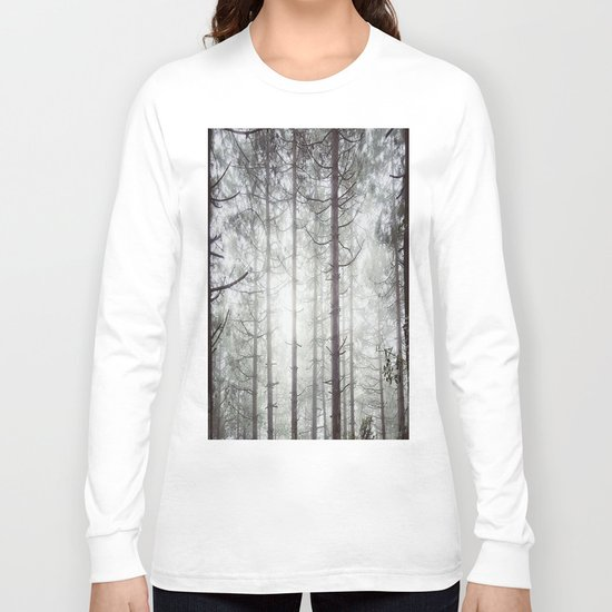 scary art Long Sleeve T-shirt