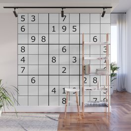 Number Game Wall Mural