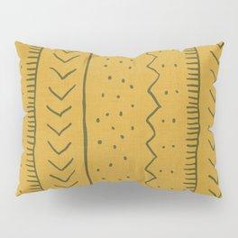 Moroccan Stripe in Mustard Yellow Pillow Sham