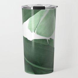 Green Banana Leaf Travel Mug