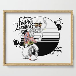 Fear and Loathing Serving Tray