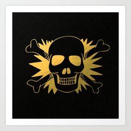 Skullz Art Print