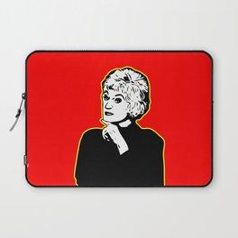 Bea Arthur   Golden Girl   Pop Art Laptop Sleeve