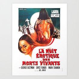 Vintage Movie Poster Art Print