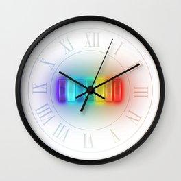What're your shades?  Rainbow Colors VIBGYOR Wall Clock