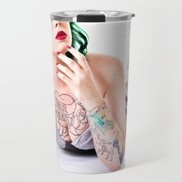 Lea Graves Pinup Travel Mug