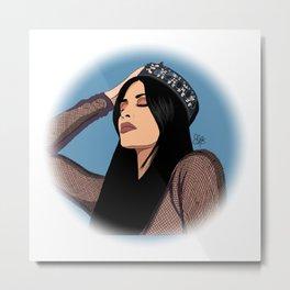King Kylie Metal Print