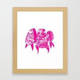 minima - slowbot 005 Framed Art Print