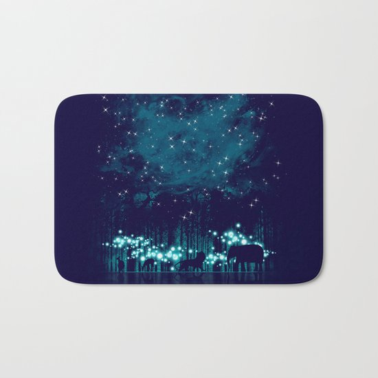 Cosmic Safari Bath Mat