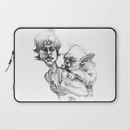 Luke Skywalker and Yoda Laptop Sleeve