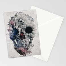 Floral Skull 2 Stationery Cards